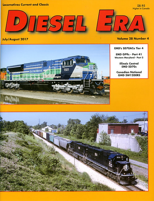 Diesel Era: Volume 28 Number 4