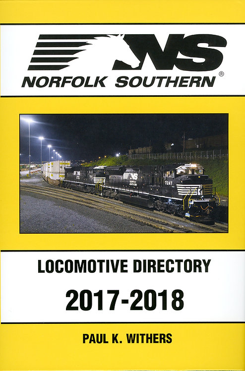 Norfolk Southern 2017-2018 Locomotive Directory
