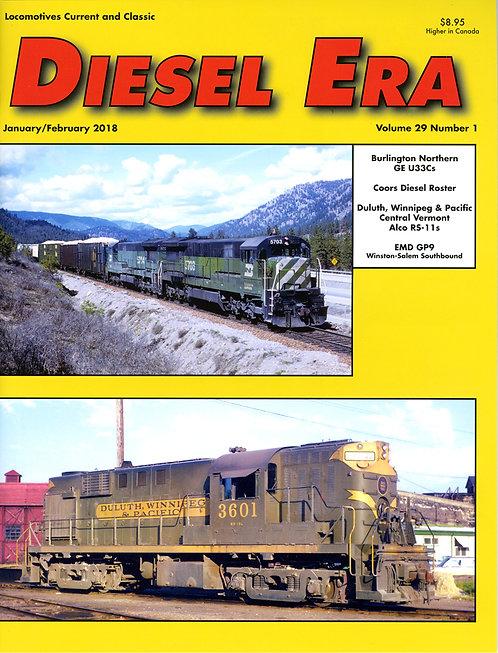 Diesel Era: Volume 29 Number 1