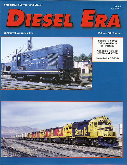 Diesel Era: Volume 30 Number 1