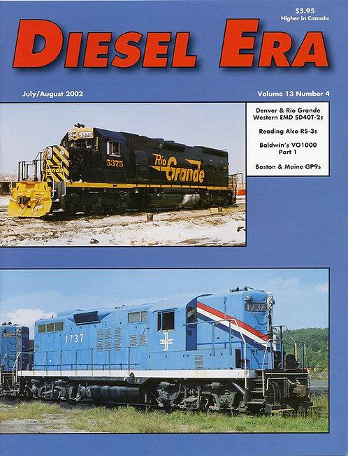 Diesel Era: Volume 13 Number 4