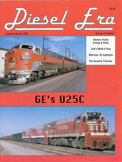 Diesel Era: Volume 4 Number 1