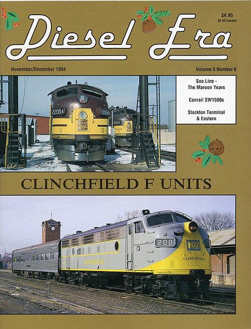 Diesel Era: Volume 5 Number 6