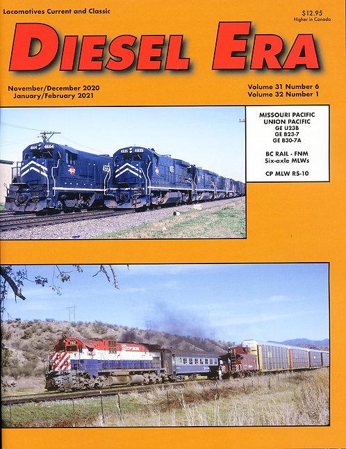 Diesel Era: Volume 31 Number 6 & Volume 32 Number 1