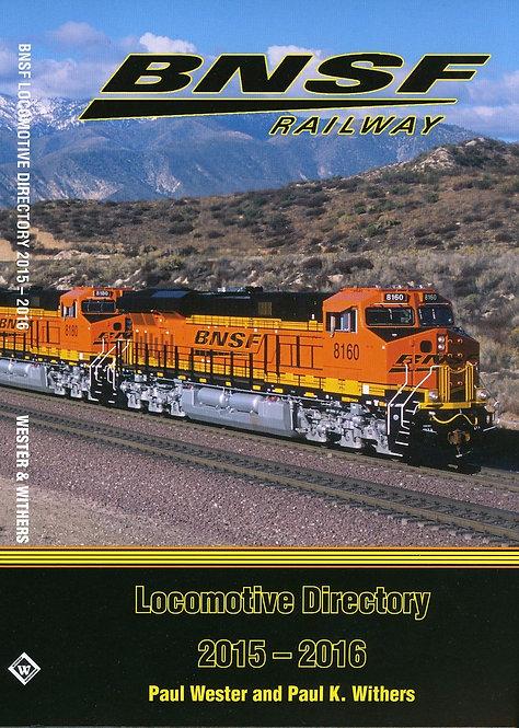 BNSF Railway Locomotive Directory 2015-2016