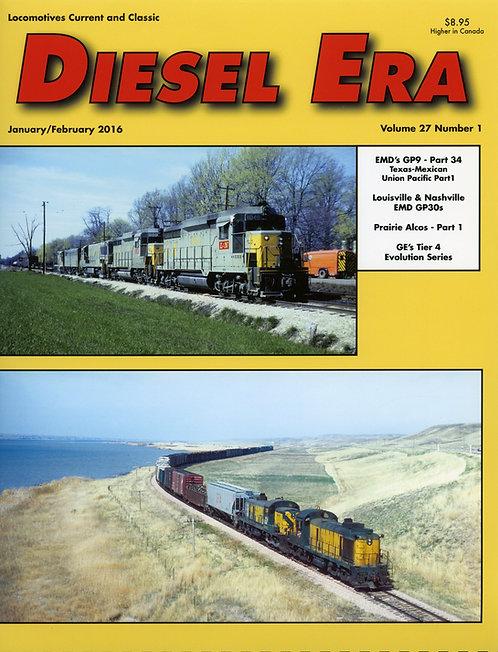 Diesel Era: Volume 27 Number 1