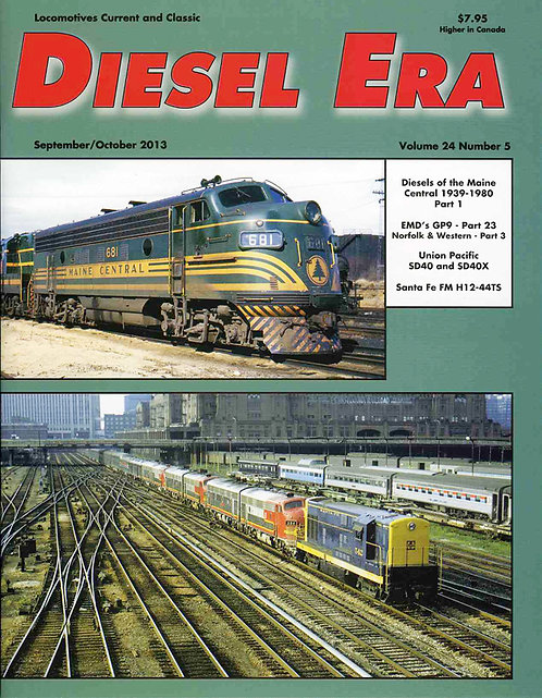 Diesel Era: Volume 24 Number 5