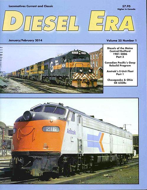 Diesel Era: Volume 25 Number 1