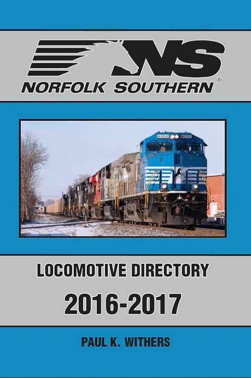 Norfolk Southern 2016-2017 Locomotive Directory