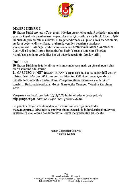 MGC GAZETECİLİK YARIŞMASI YÖNETMELİĞİ-4.