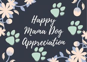 Mama Dog Appreciation April 25-May 9
