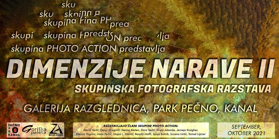 Dimenzije narave ll fotografska razstava