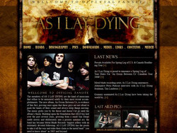 As I Lay Dying fansite