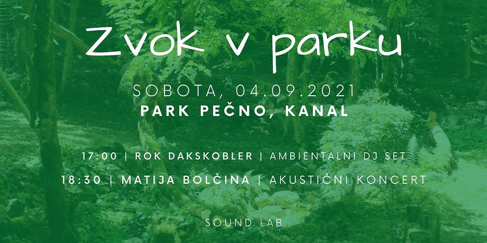 Zvok v parku