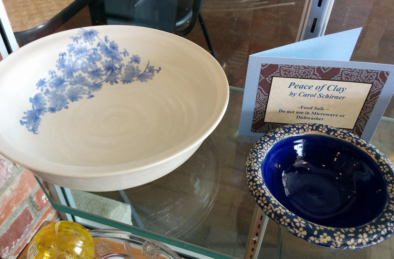 pottery by Carol Schirner