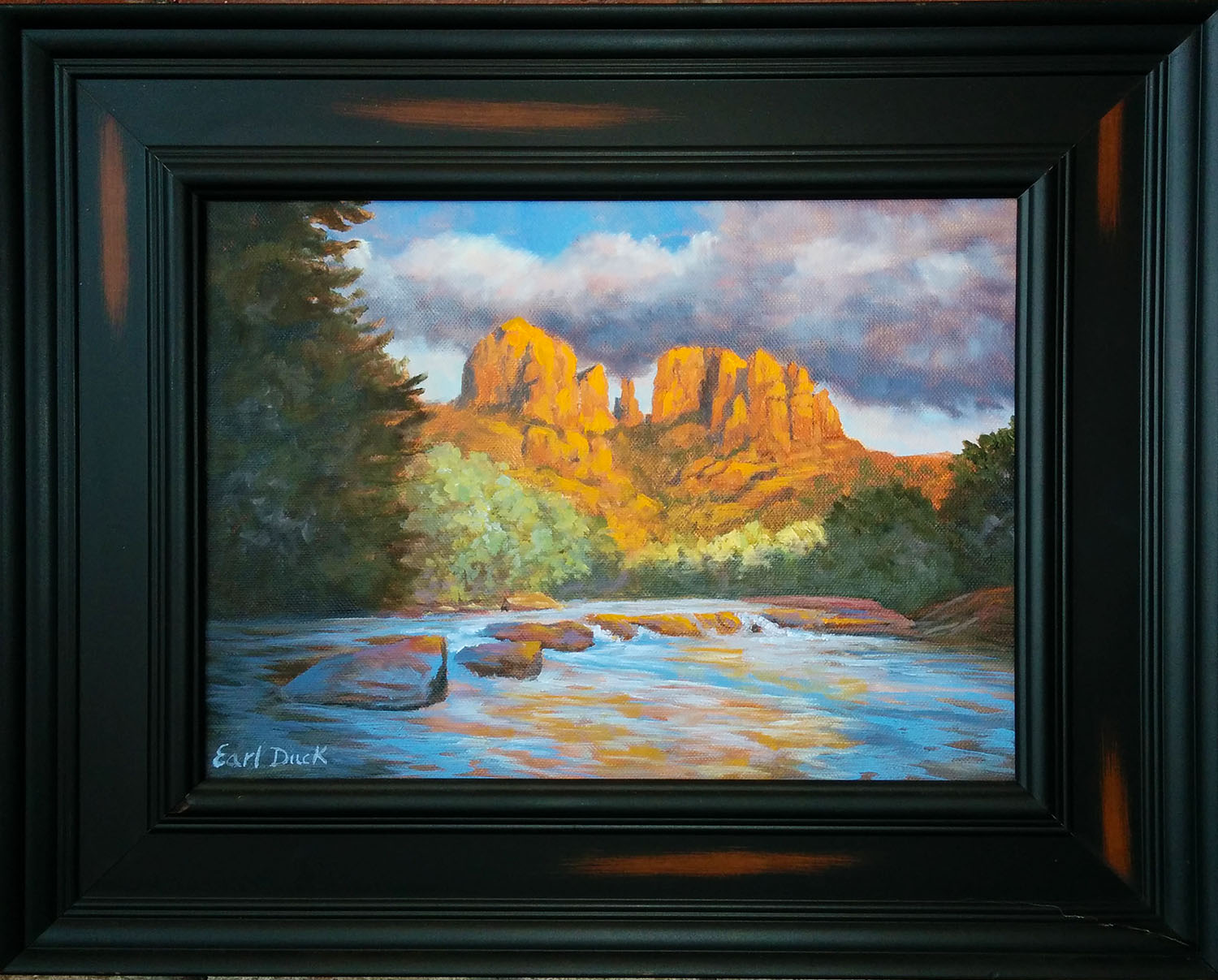 Cathedral Rock by Earl Duck