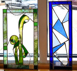 stained glass by Diane Hodges