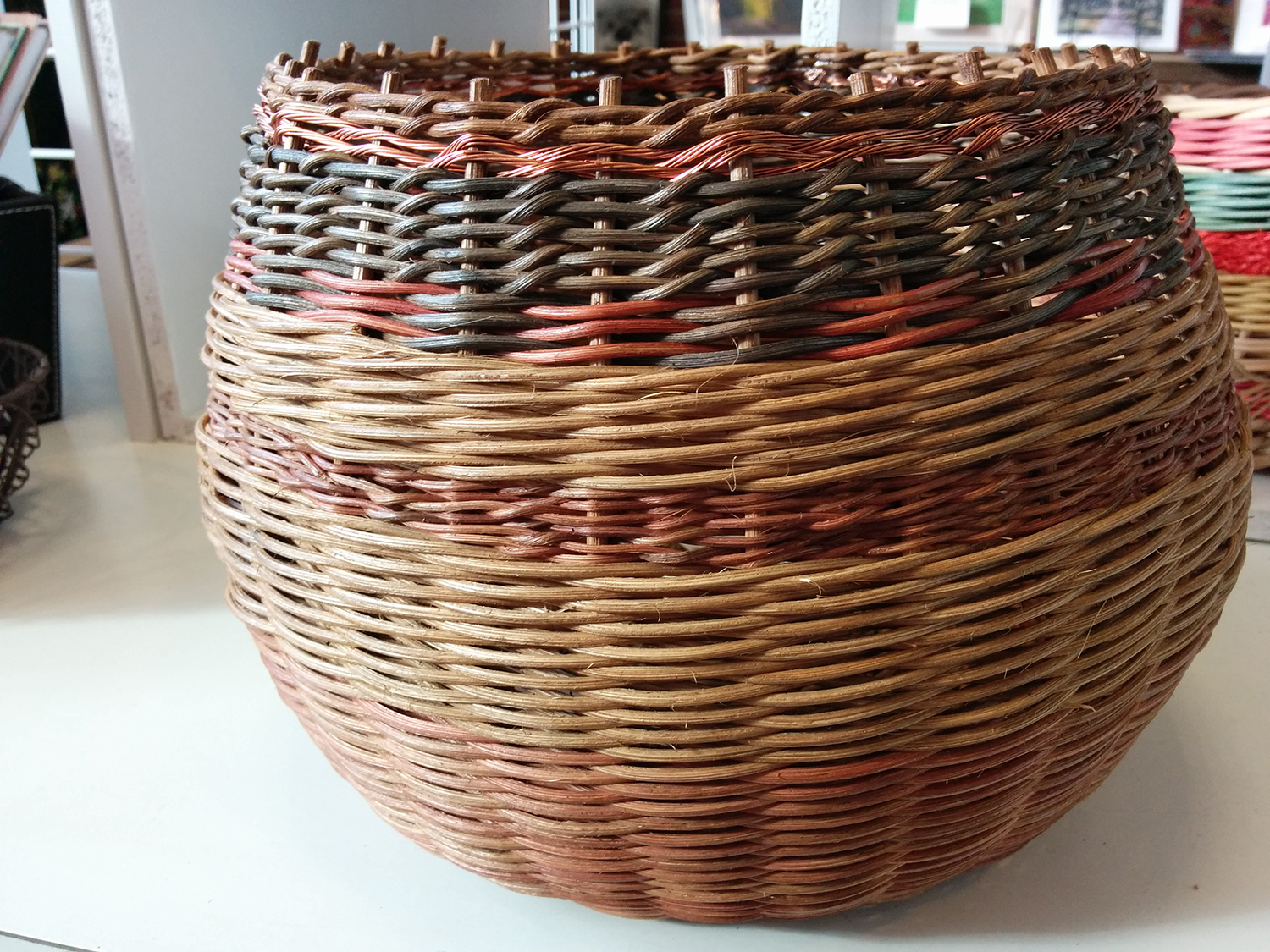 basketry by Barry Cheney