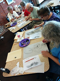 Licking County Arts workshop