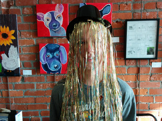 Steam Punk Hat Building at Kids Fest