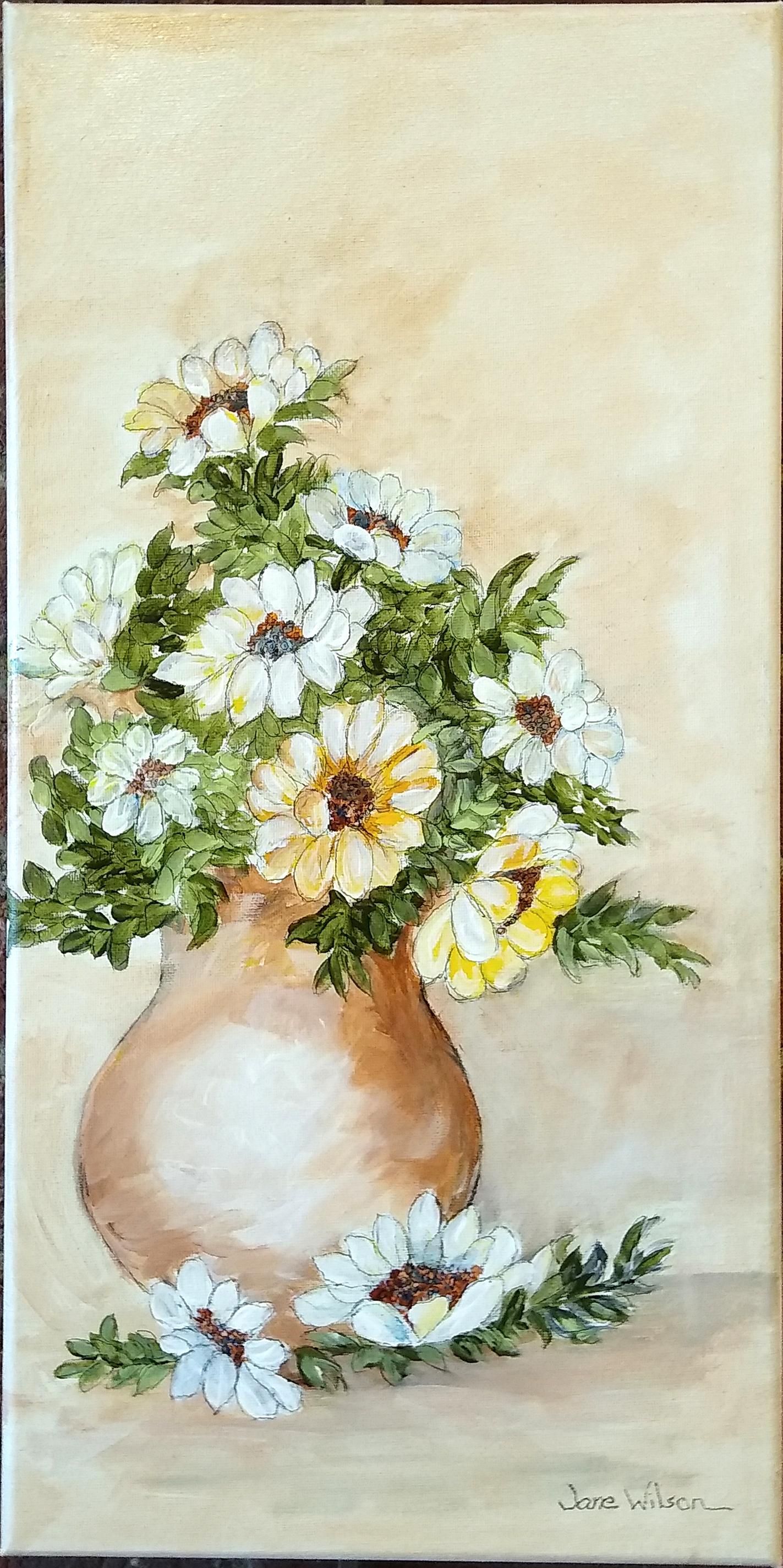 acrylic by Jane Wilson