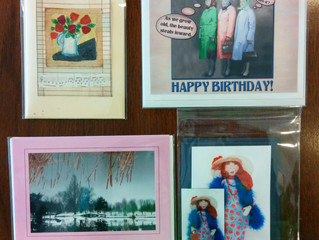 Original, hand-made greeting cards are the best!