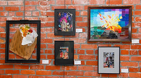 Licking County Arts monthy art show