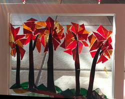 stained glass byDiane Hodges