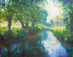 Willows by the River Thame