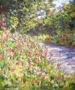 Wildflowers by the Lane