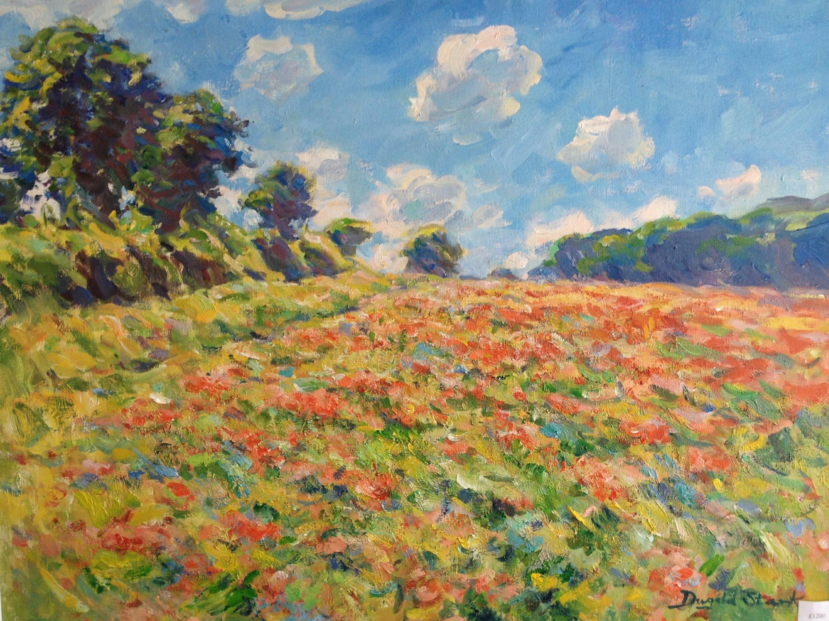 Wind through the Poppy Field