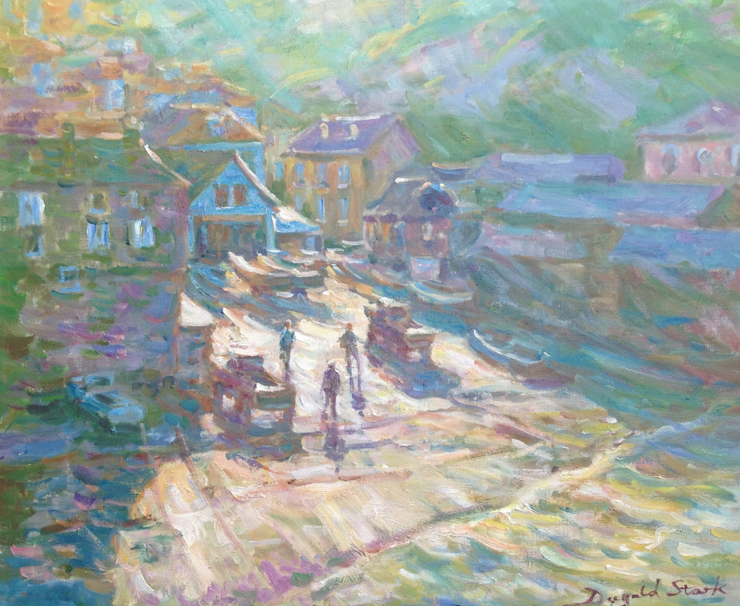 Misty Morning, Port Isaac