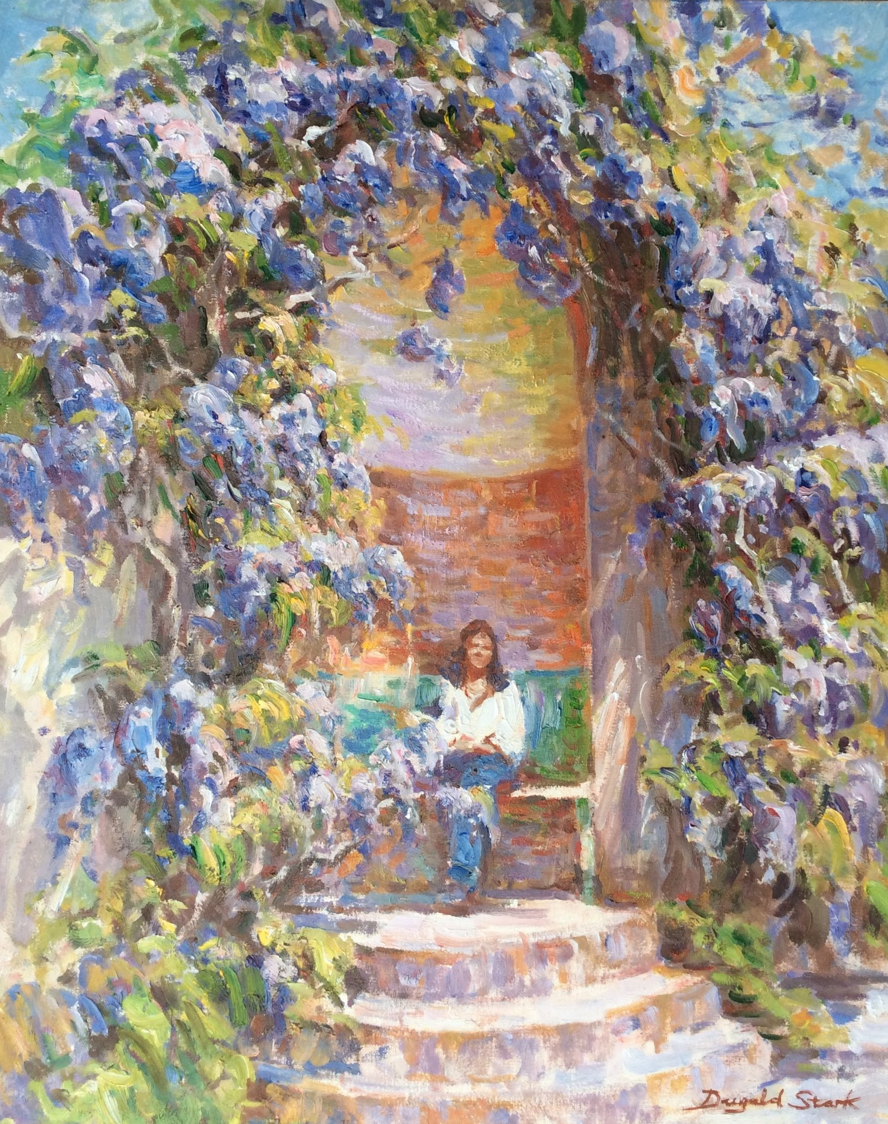 Under the Wisteria, Pencarrow