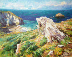 From Treknow Cliff, Trebarwith