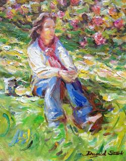 Grassy Bank, Summer Sun