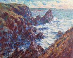 Winter Seas, Kynance