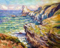 Cliffs at Bossiney