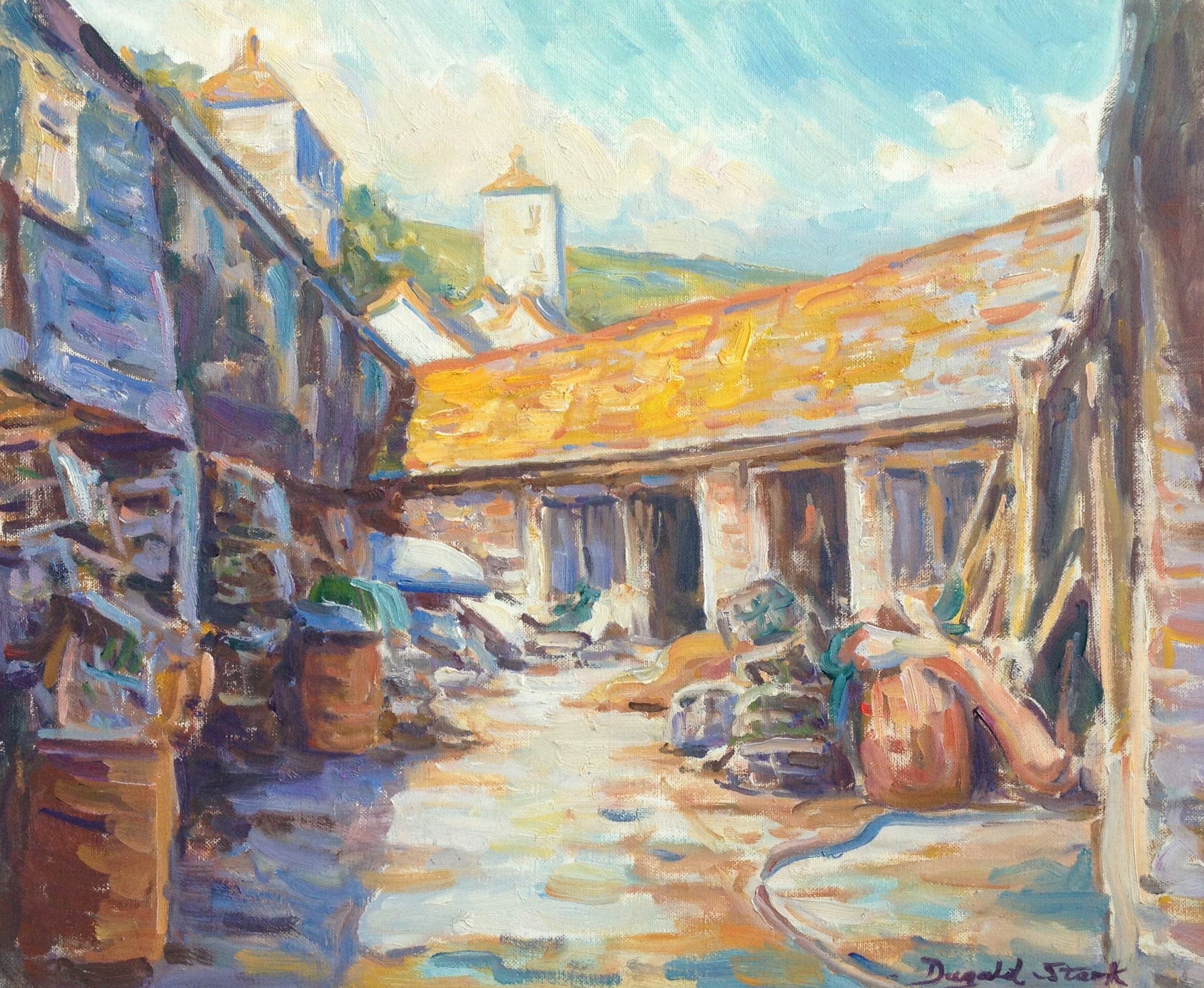 Fish Cellars, Port Isaac