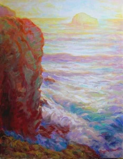 Evening at Trebarwith, Red Effect