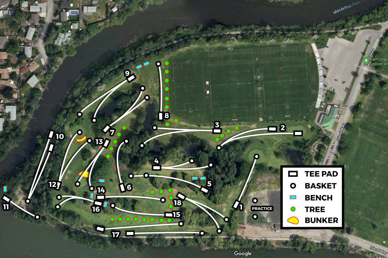 Kamloops Disc Golf Club | Kamloops, BC on rankin inlet map, british columbia map, jasper map, langley map, ft st john map, mount edziza map, fernie map, shuswap lake provincial park map, whistler map, st. catharines map, coquitlam map, coquihalla pass map, fraser valley regional district map, salmon arm map, summerside map, quesnel lake map, vancouver map, victoria map, gillam map, canadian rockies map,