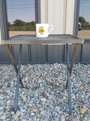 Folding Metal Table