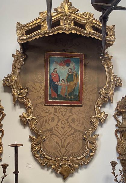 18th Century Italian Gold Gilded Baldaquino