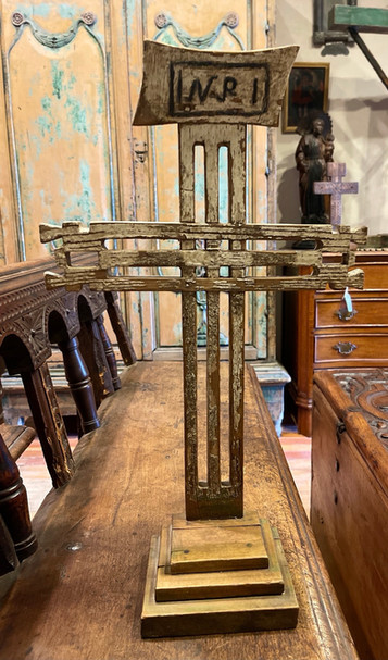 19th Century Wooden Mexican Cross