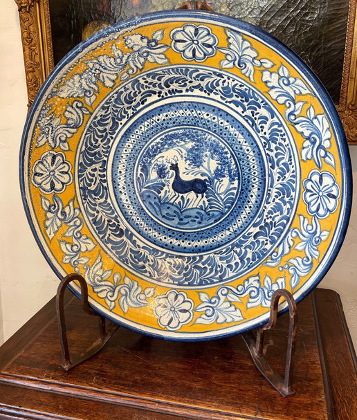 19th Century Large Mexican Bowl