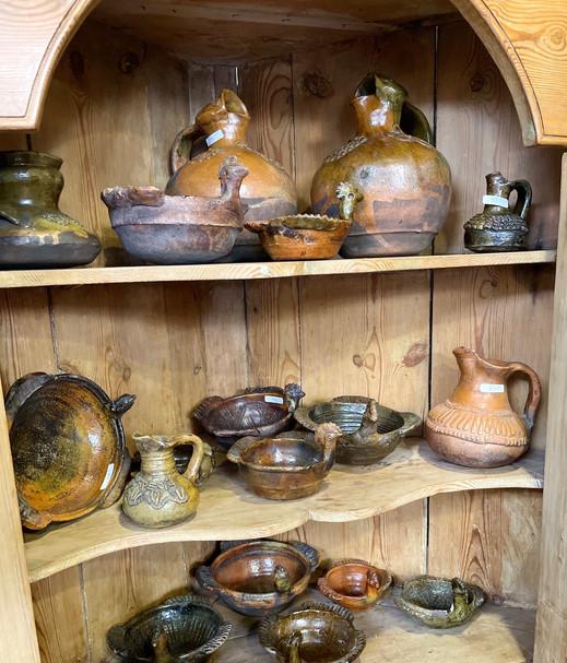 Various Pottery from Totonicipan, Guatemala