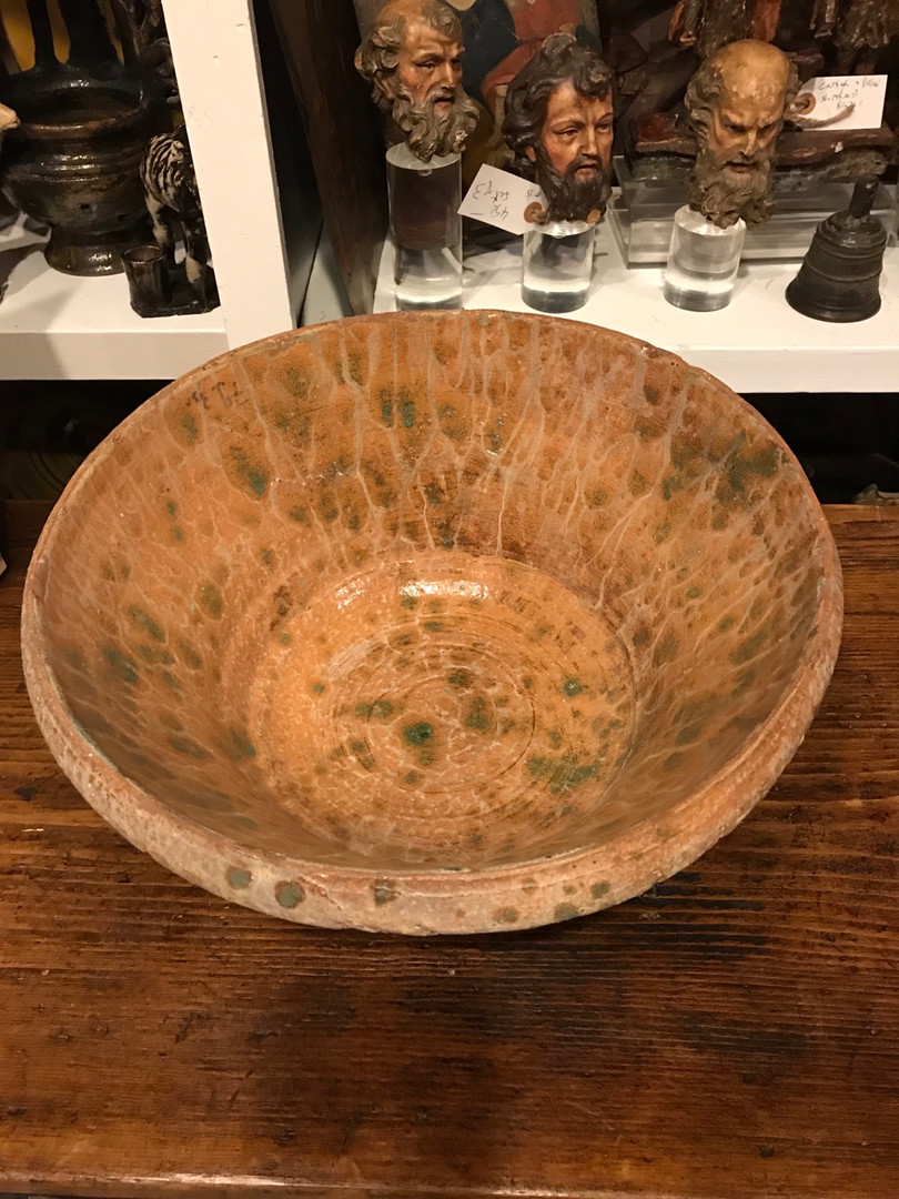 19th Century French Ceramc Bowl