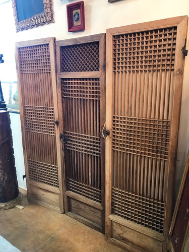 Set  of 3 19th  Century Japanese Doors