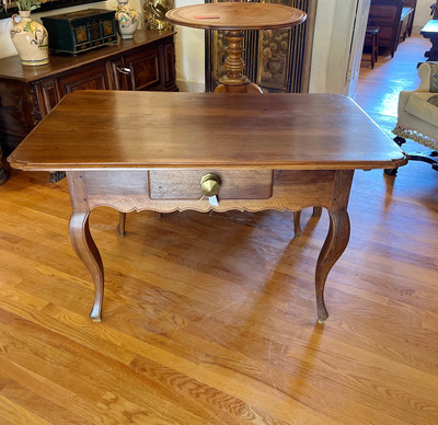 19th Century French Table with Draw