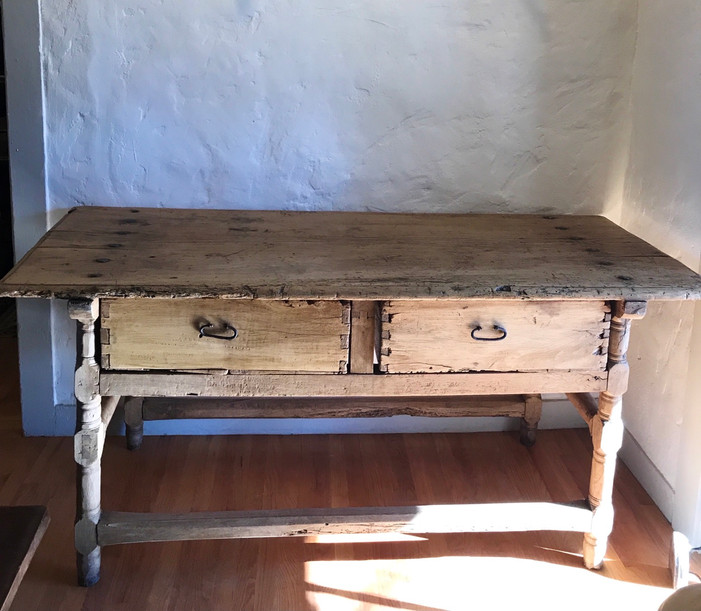 18th Century Mexican  Sabino Hacienda Table