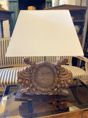 Table Lamp made from Architectural Fragment